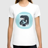 the whale T-shirts featuring Whale by Rodrigo Fortes