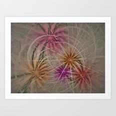 Abstract Happiness Art Print