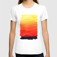 sunset T-shirts featuring Sunset by Timone