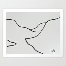 Cajon del Maipo Art Print