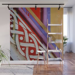 Celtic Knot with Autumn Colors Wall Mural