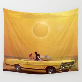 Yellow Fever View Wall Tapestry