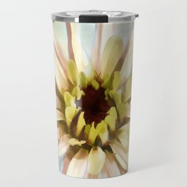 Pastel Zinnia Travel Mug