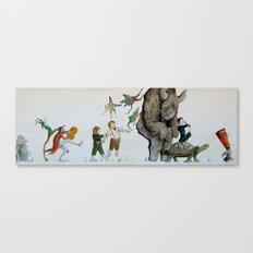 Fairy Parade Canvas Print
