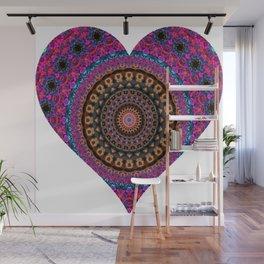 XL Valentine's Heart 3 Wall Mural