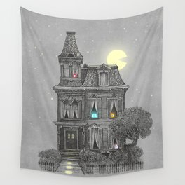 Haunted by the 80's Wall Tapestry