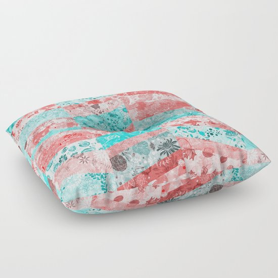 Floor Pillows Sewing Pattern : Paris Pattern Floor Pillow by Diego Tirigall Society6