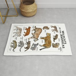Wildcats of the Americas Rug