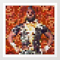 Mr. T Bling Art Print