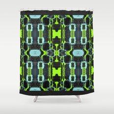Cyber Mesh Shower Curtain