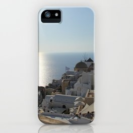 The Village of Oia iPhone Case