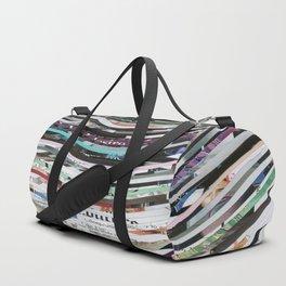 Time Traveler Couple Duffle Bag