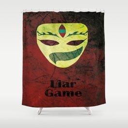 Liar Game Shower Curtain
