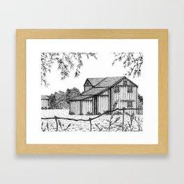 Barn Framed Art Print