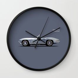 Corvette 65 Wall Clock
