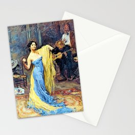 Portrait of the Dancer Marietta di Rigardo - Digital Remastered Edition Stationery Cards