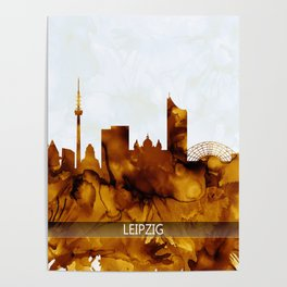Leipzig Posters For Any Decor Style Society6