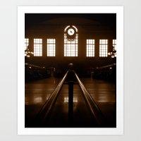 Hoboken Terminal Art Print