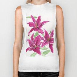 Sumatra Lilies Biker Tank