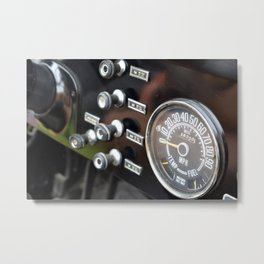 Old Dash Metal Print