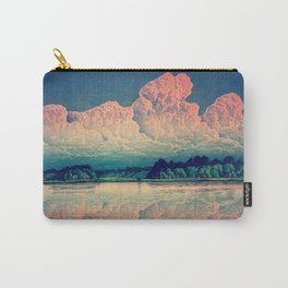 Admiring the Clouds in Kono Carry-All Pouch