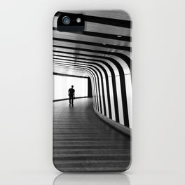 Futuristic Underground iPhone Case
