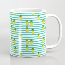 Ananas tropical summer pattern Coffee Mug