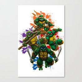 Teenage Mutant Ninja Turtles Canvas Print