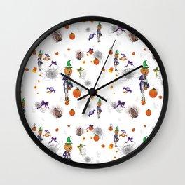 Tricks& Treats Wall Clock