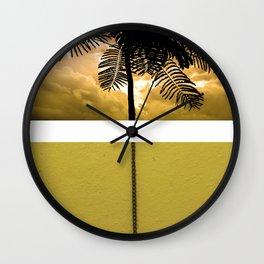 Pull Sunset Wall Clock