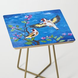 Goldfinches Side Table