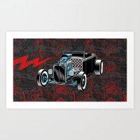 Built For Speed II Art Print