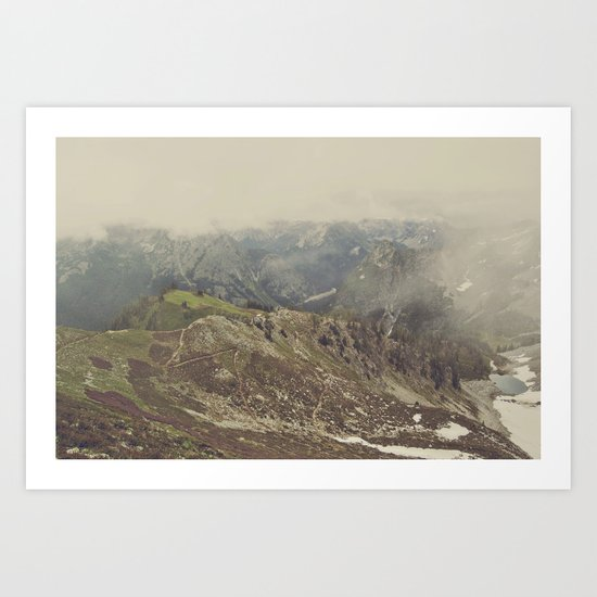 Hit the Trails Art Print