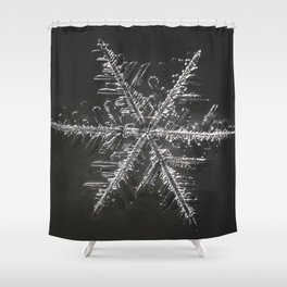 January Snowflake #4 Shower Curtain