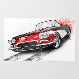 Corvette 1959 Rug