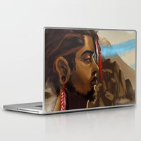 medicine Laptop & iPad Skins featuring Medicine Man by gravityjump