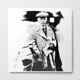 Sergei Rachmaninoff Metal Print