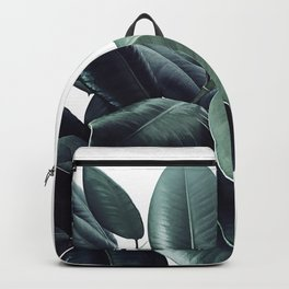 Ficus Elastica #18 #White #foliage #decor #art #society6 Backpack