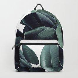 Ficus Elastica #18 #White #foliage #decor #art #society6 Backpack