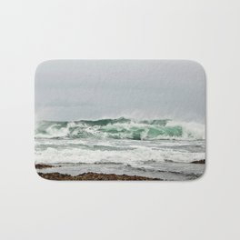 Explosive Green Surf of the St-Lawrence Bath Mat