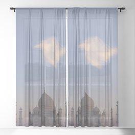 Taj Mahal Sheer Curtain