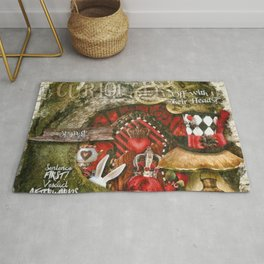 Queen of the Hearts Rug