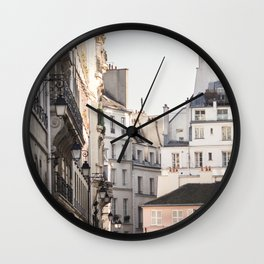 Isle Saint Louis in Paris Wall Clock