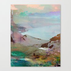 Untitled 20120206s (Landscape) Canvas Print