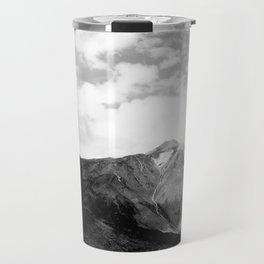 Teide in black Travel Mug