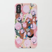 poppies iPhone & iPod Cases featuring Poppies by Jackie Thomson