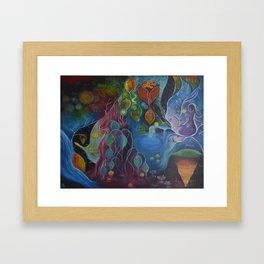 """Where the magic begins"" original painting by Katrina Koltes Framed Art Print"