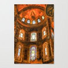 Hagia Sophia Istanbul Canvas Print