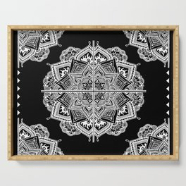 Mandala Lace (Tile) Serving Tray