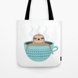 Sloth In A Cup Tote Bag